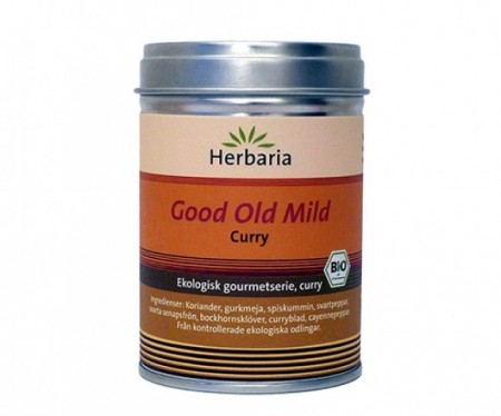 Herbaria krydder - Gold old mild, Curry