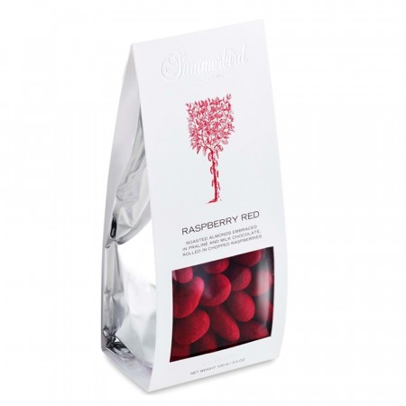 Summerbird - Mandler, Raspberry Red, 100 gram