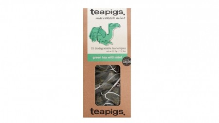 Teapigs - Green tea with mint, 15 poser
