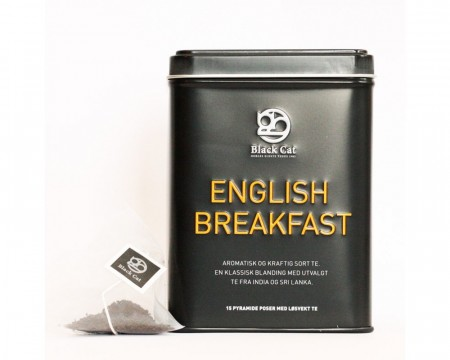 Wellness - English Breakfast, boks, 15 poser